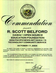 Commendation Lt Governor PacificNewsNet